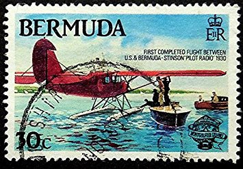 1930 arrival of first aircraft to Bermuda