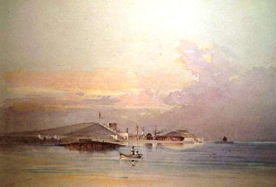 Royal Naval Dockyard again by Gaspard Le Merchant Tupper