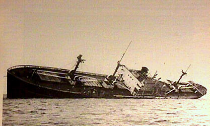 SS Leicester towed off Bermuda