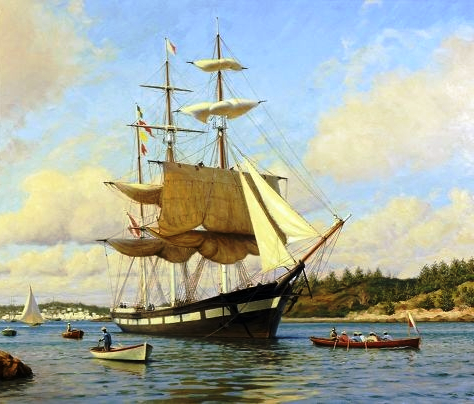 Sir George F. Seymour Bermudian clipper ship