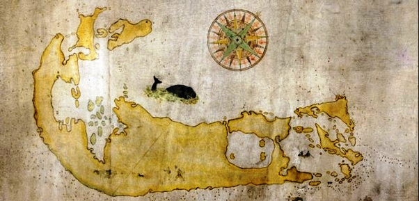 Somers map of Bermuda 1609-1610