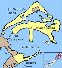 St. George's Parish area
