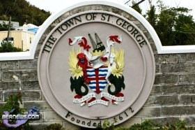 St. George's Town Crest