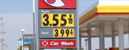US states with cheap gas