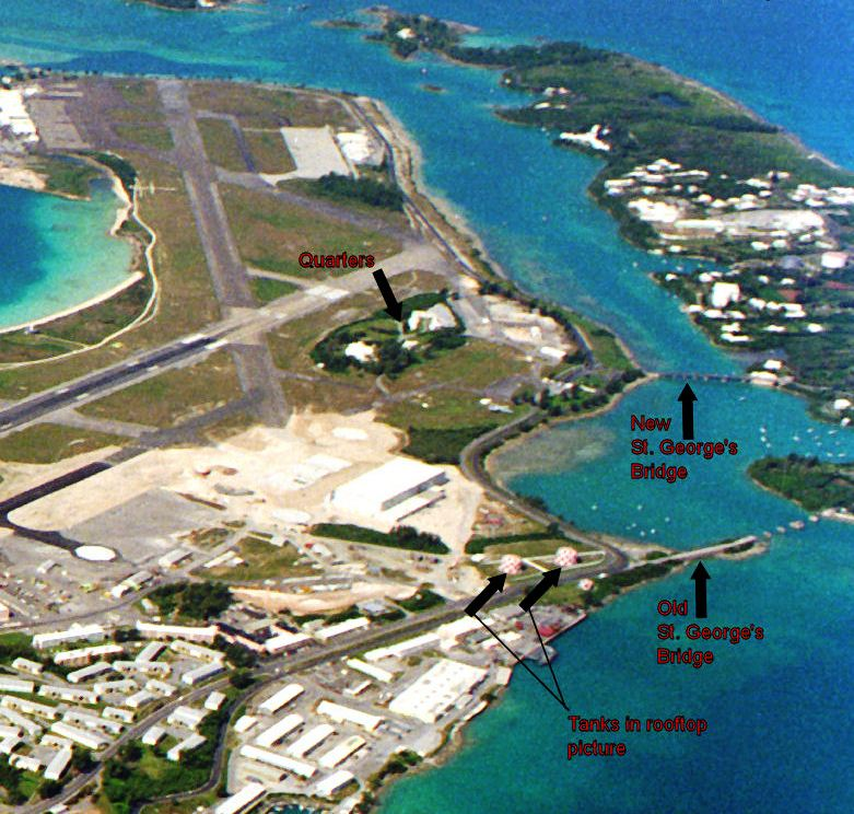 American Military Bases In Bermuda From 1941 To 1995