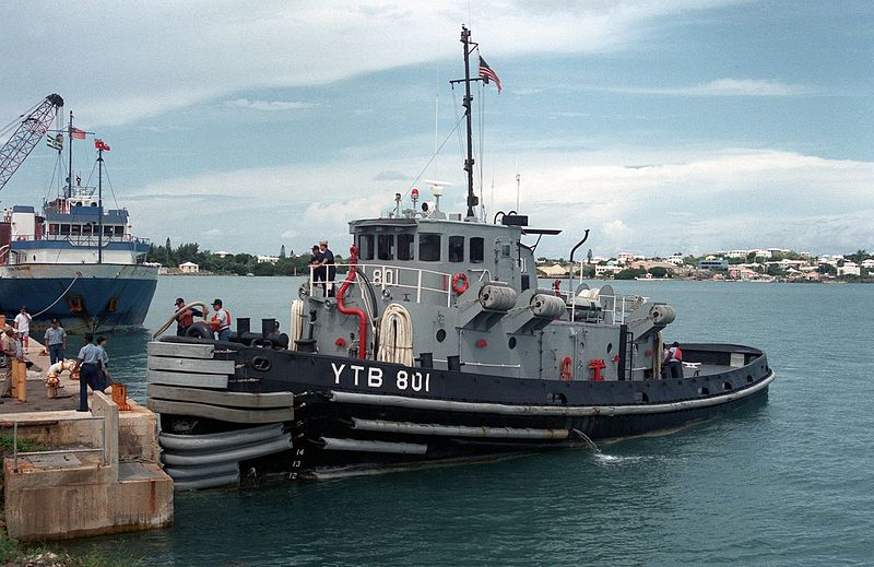 US Navy tug in Bermuda 1994