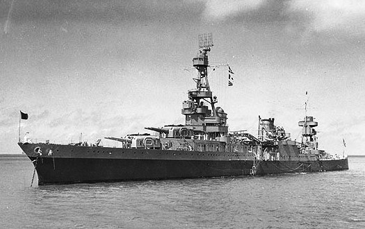 USS Augusta anchored off Bermuda Sept 1941