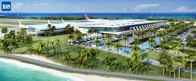 Planned new government-approved airport