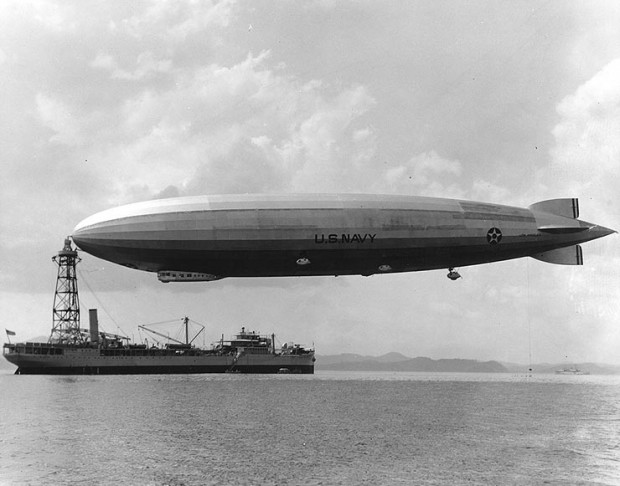 Los Angeles airship and Patoka