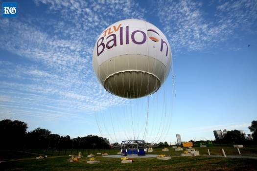 Balloon for Bermuda sightseeing