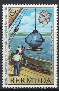 bathysphere postage stamp