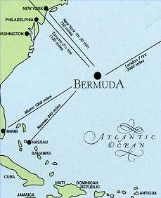 Bermudas Islands - Bermuda in relation to us map