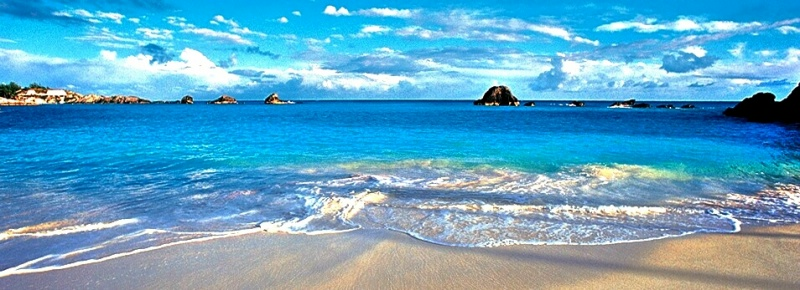 Gorgeous Bermuda beach