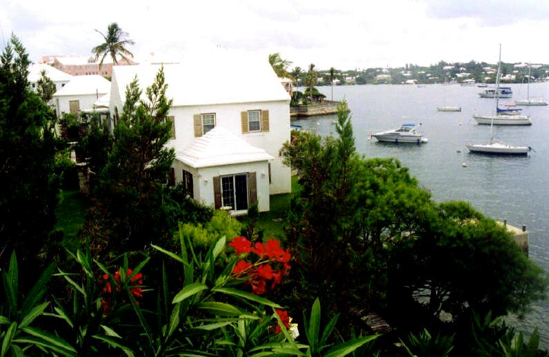 Waterside Bermuda home