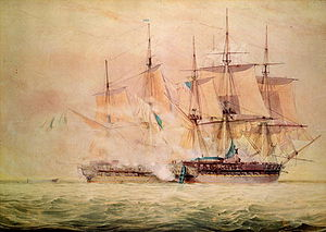 Capture of Chesapeake by HMS Shannon