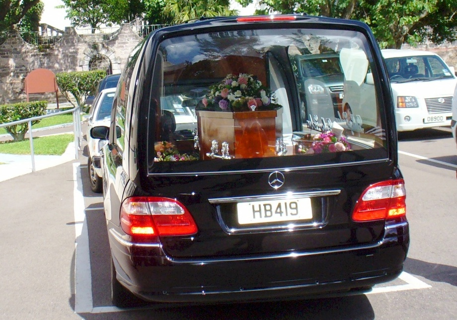 funeral in Paget of a Bermudian testator