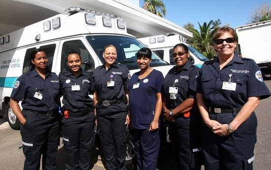 EMT staff at KEMH
