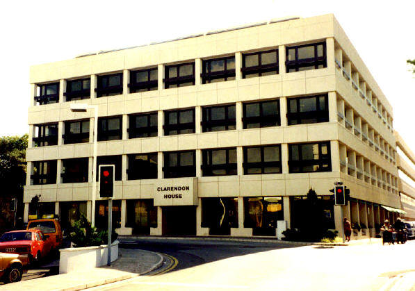 Clarendon House, HQ for many