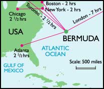 Bermuda Map Map Of Bermuda Map Of Bermuda Pleiadean - Map of us and bermuda
