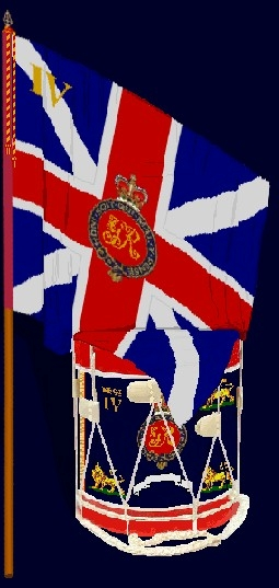 British Army colours
