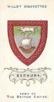 Wills version of old Bermuda coat of arms