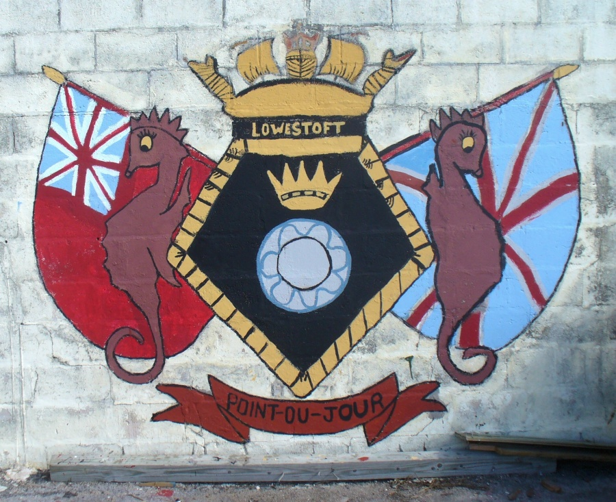 Bermuda's Royal Naval emblems and NATO ships' crests