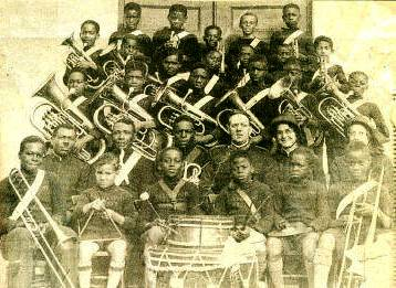 Salvation Army's Young People's Band Bermuda 1930s