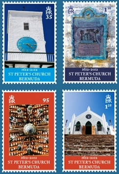 St. Peter's Church stamps of October 18, 2012