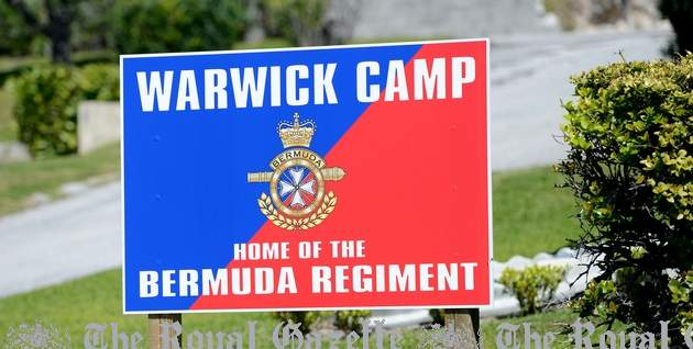 Warwick Camp Bermuda Regiment