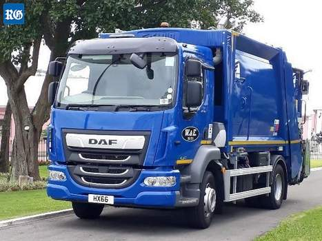 2019 DAF trash trucks
