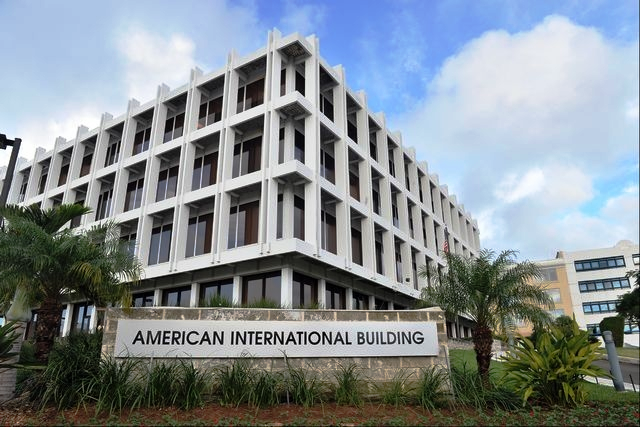 American International, AIG Group, Bermuda