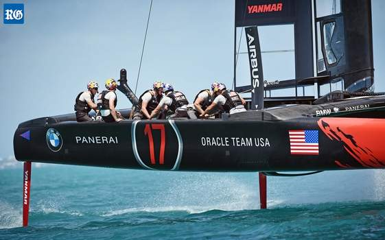 AC50 America's Cup yachts