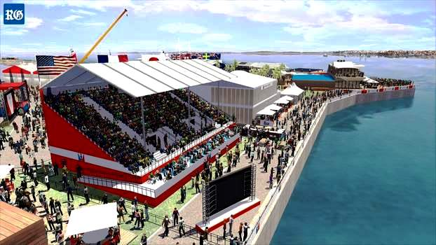America's Cup Grandstand