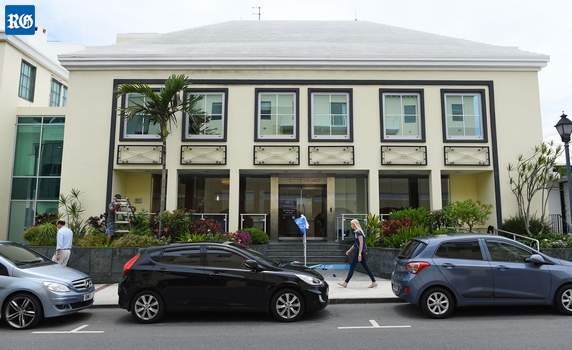 Argo Group offices in Bermuda