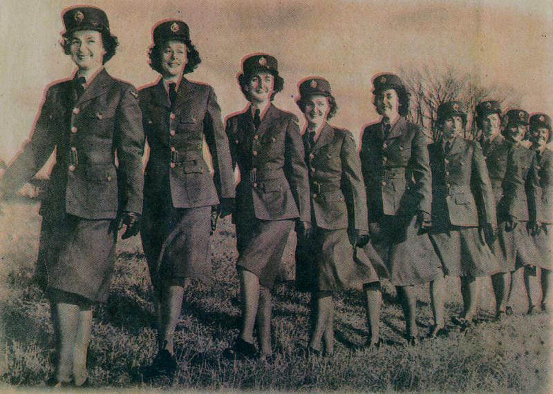 Bermudian Women in the Royal Canadian Air Force in World War 2