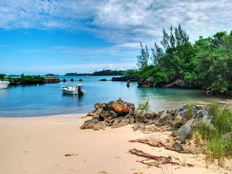 Private Bermuda Beach