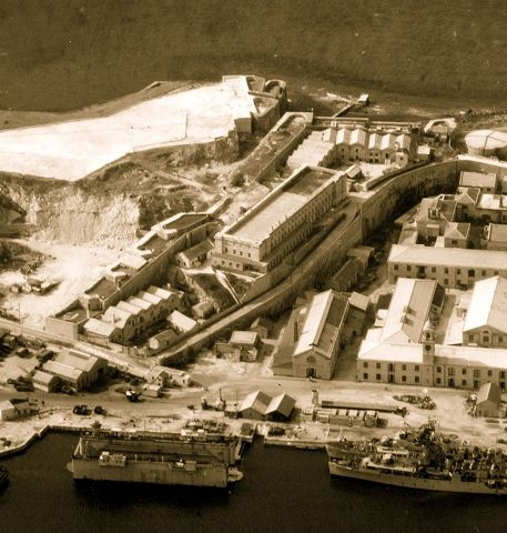 Casemates barracks 1941
