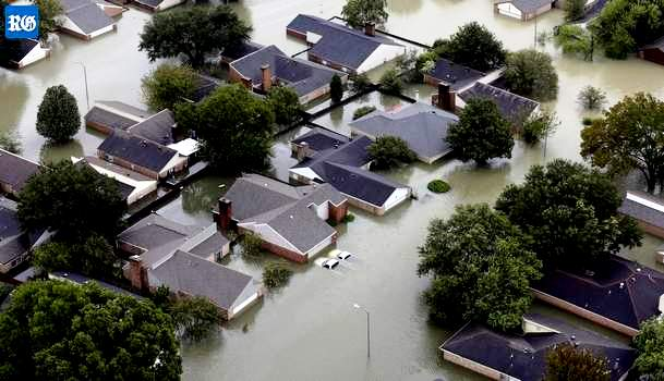 Hurricane Harvey floods