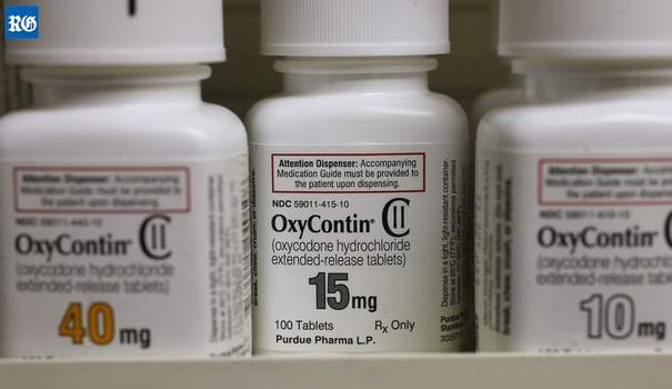 Oxycontin by a Bermuda-registered company