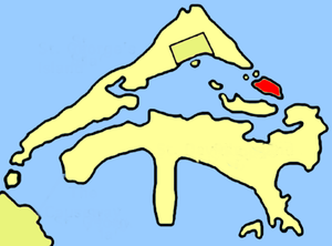 Paget Island location