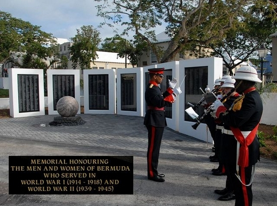 New 2010 Bermuda War Memorial