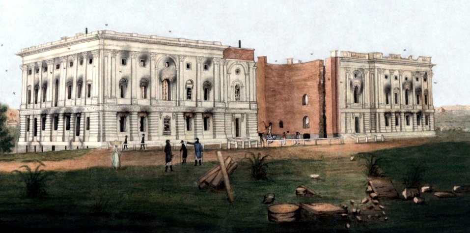 White House August 25, 1814