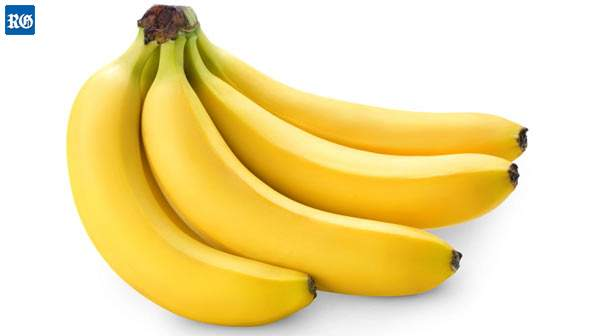 A kilo of imported bananas