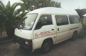 Bermuda Physically Handicapped Association mini bus