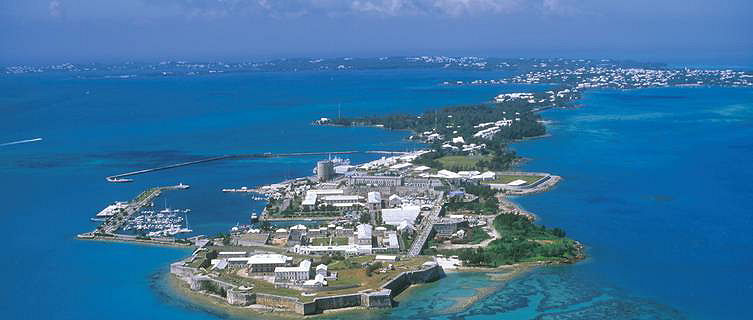 Bermuda S Dockyard At Ireland Island A Royal Navy Base