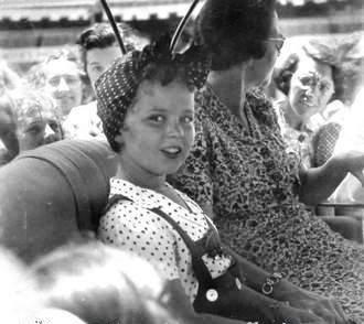 Shirley Temple in Bermuda 1938